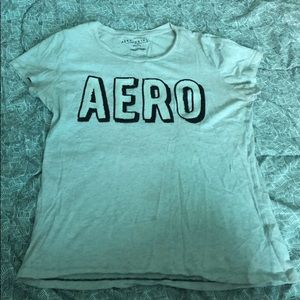 White Aeropostale shirt